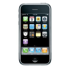 The Apple iPhone from AT&T Wireless.